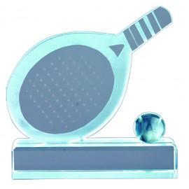 Trofeo cristal  pádel