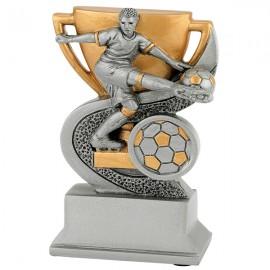 Trofeo de resina copa fútbol
