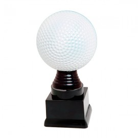 Trofeo de plástico de golf