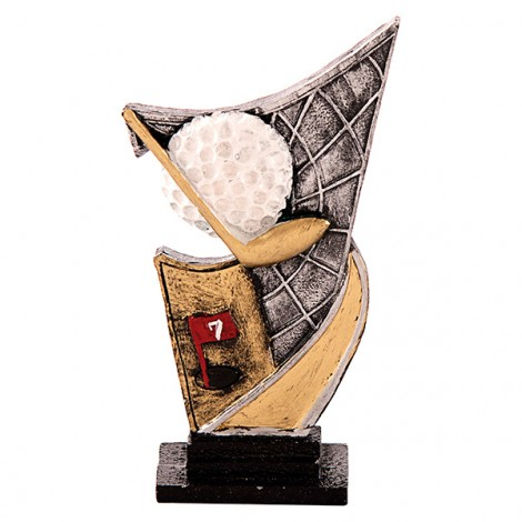 Trofeo de resina de Golf