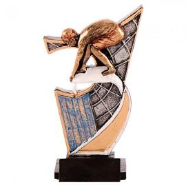 Trofeo de resina de Natación