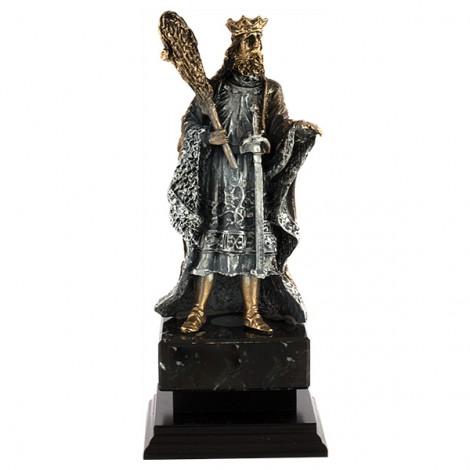 Trofeo resina Rey de Bastos