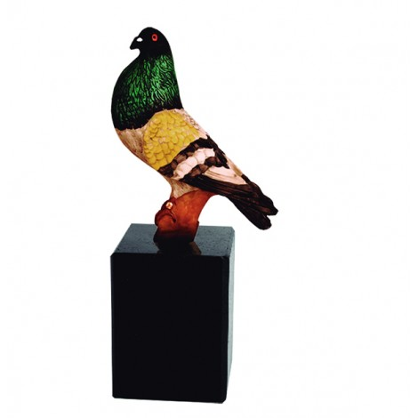 Trofeo resina palomo