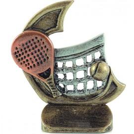 Trofeo resina Serie 77 Pádel