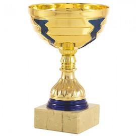Trofeo copa oro/azul
