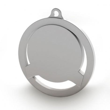 Medalla de 60mm personalizable a color. Modelo A