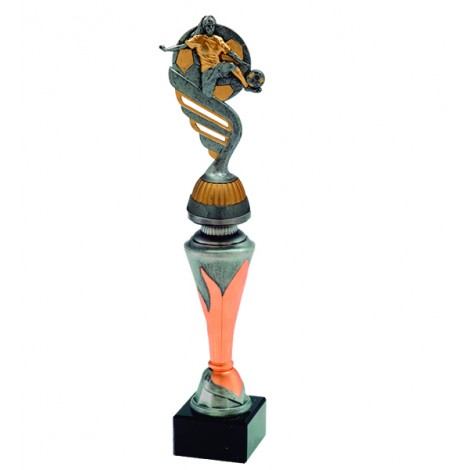 Trofeo oro y plata con aplique S4400
