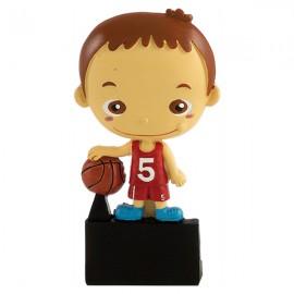 Trofeo de resina Serie 33 baloncesto
