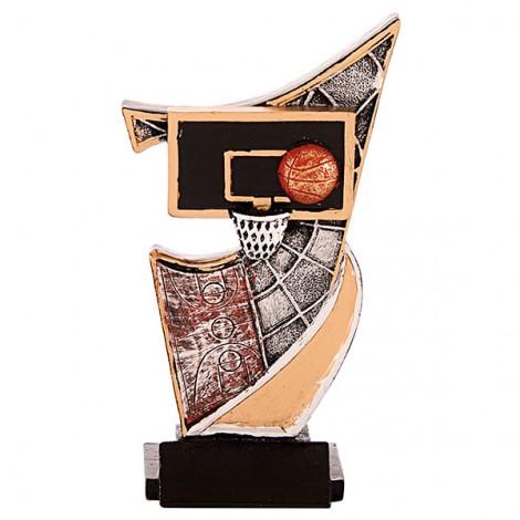 Trofeo de resina de Baloncesto