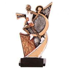 Trofeo de resina Cross masculino