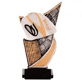 Trofeo de resina de Karate