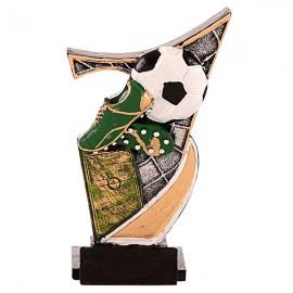 Trofeo de resina de Fútbol