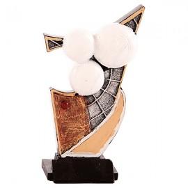 Trofeo de resina de Petanca