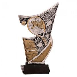 Trofeo de resina de Pádel