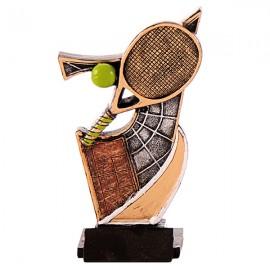 Trofeo de resina de Tenis