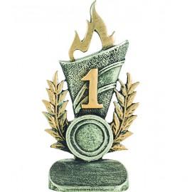 Trofeo Resina Nº1 con portadiscos
