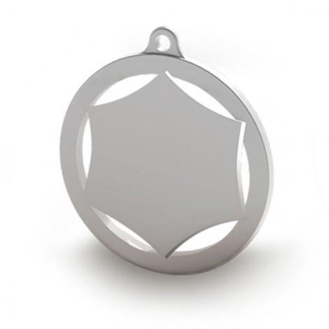 Medalla de 60mm personalizable a color. Modelo D