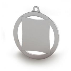 Medalla de 60mm personalizable a color. Modelo E