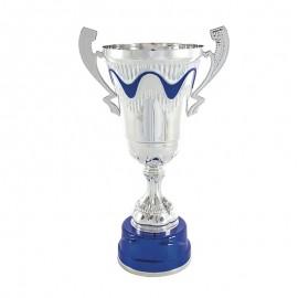 Trofeo copa clásica bicolor con asas