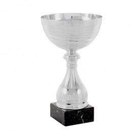 Trofeo copa plateada