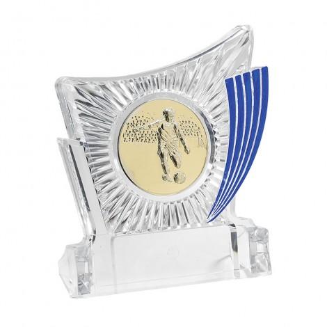Trofeo plata portadiscos