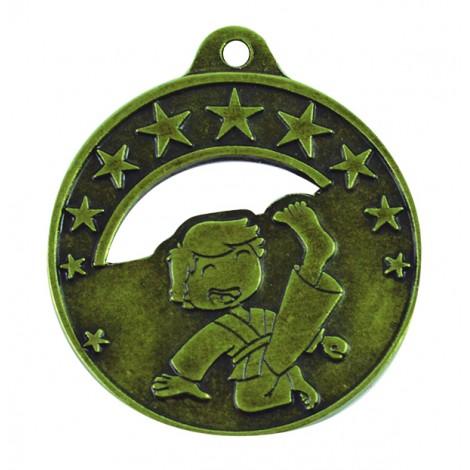 Medalla infantil de karate