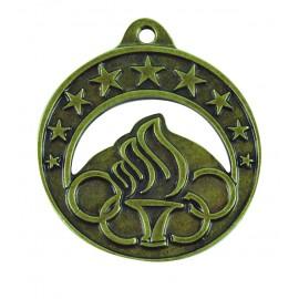 Medalla infantil alegórica