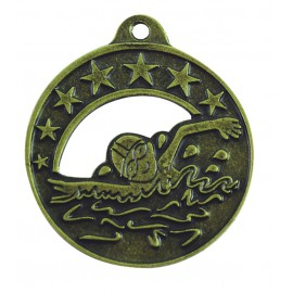 Medalla infantil de natación