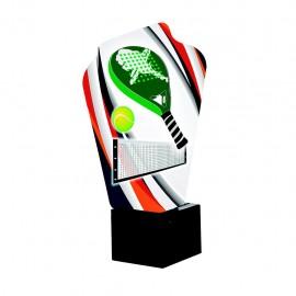 Trofeo figura pádel color