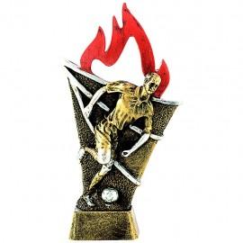 Trofeo resina figura fútbol