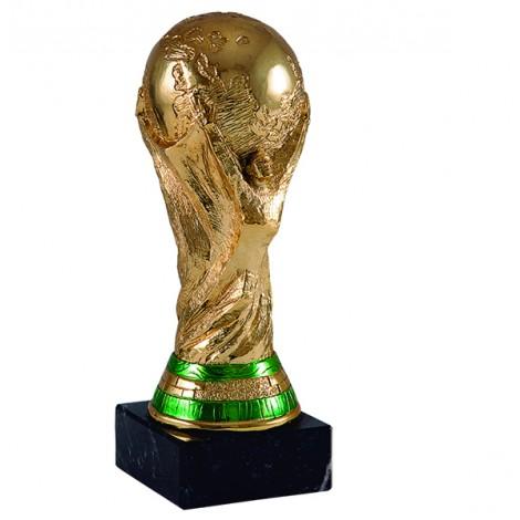 Trofeo de resina Copa del mundo