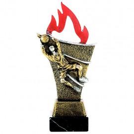 Trofeo resina figura portero