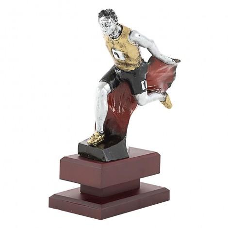 Trofeo figura de atletismo masculino