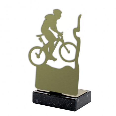 Trofeo ciclismo metal