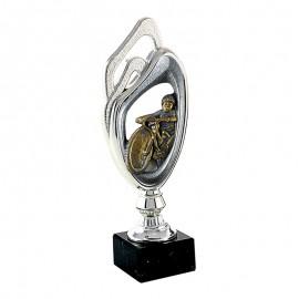 Trofeo figura de ciclismo