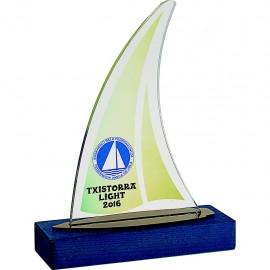 Trofeo de vela color