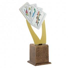 Trofeo Resina Cartas