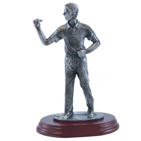 Trofeo de resina de dardos