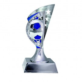 Trofeo de fútbol fabricado en plástico
