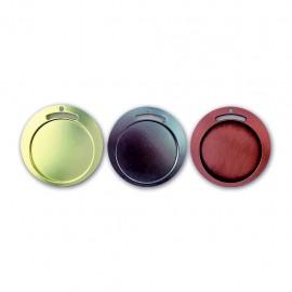 Medalla Redonda Serie 06A de 45mm impresa a color