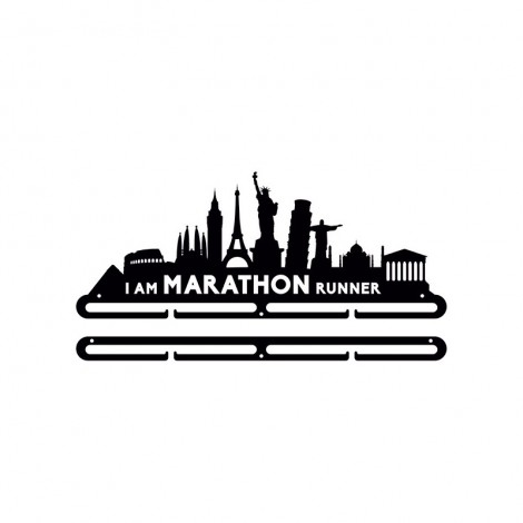 Medallero I Am Marathon Runner