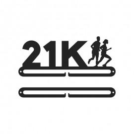 Medallero letras 21K