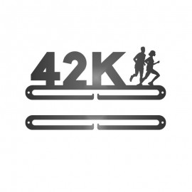 Medallero letras 42K