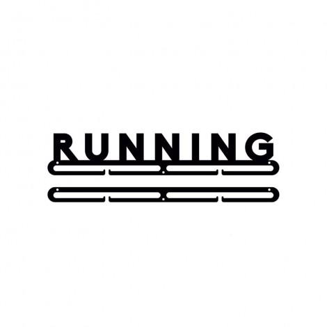 Medallero letras Running