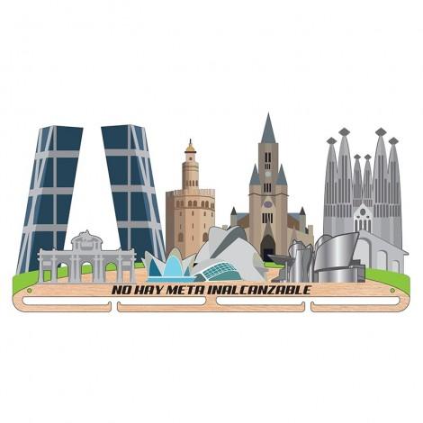 Medallero ciudades de España