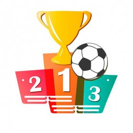 Medallero infantil fútbol